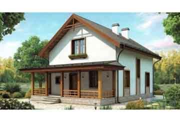 Каркасный дом АСД-1379