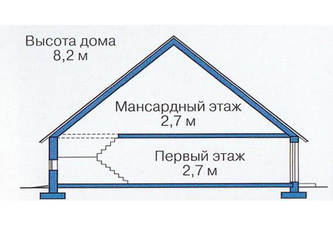 План N3 проекта каркасного дома АСД-1385