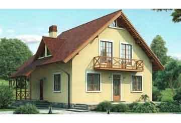 Каркасный дом АСД-1386