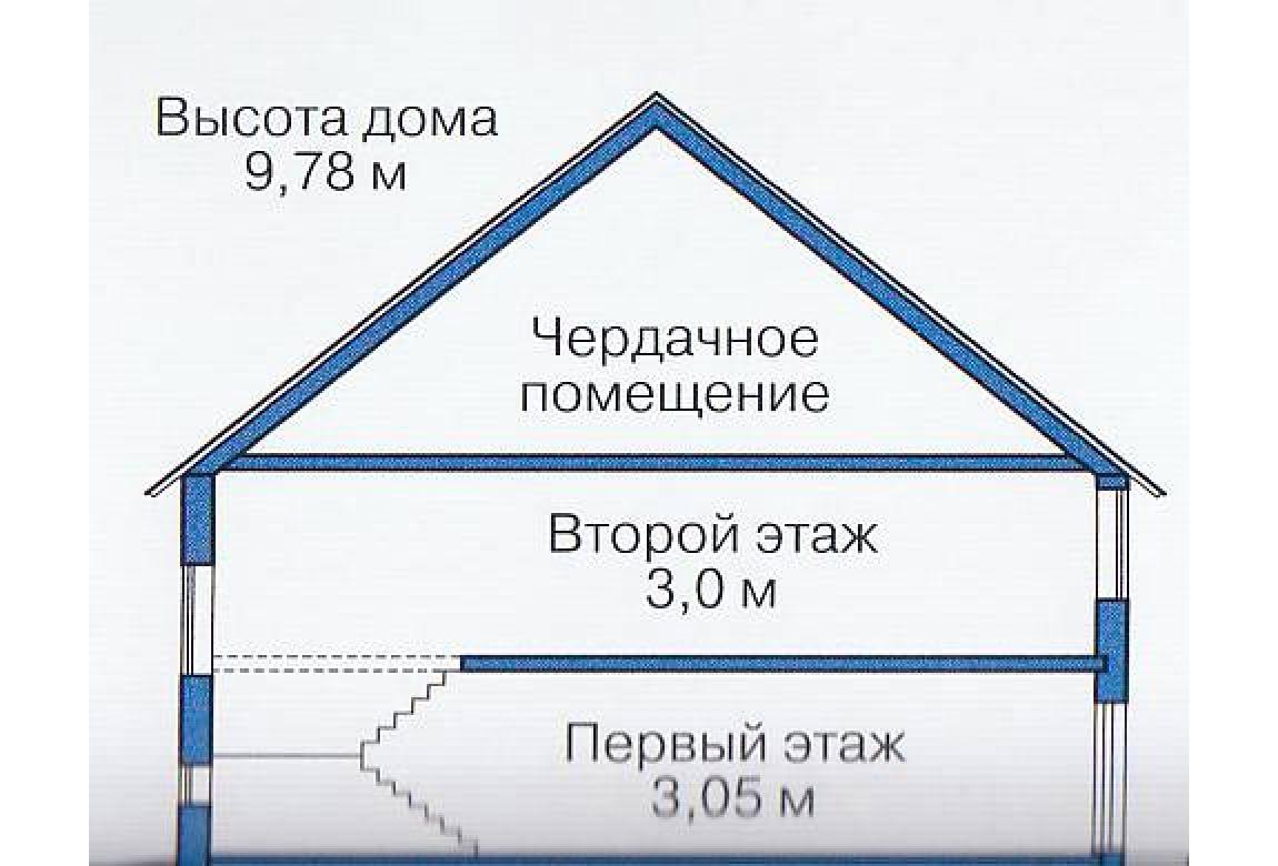План N3 проекта каркасного дома АСД-1387