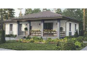 Каркасный дом АСД-1388