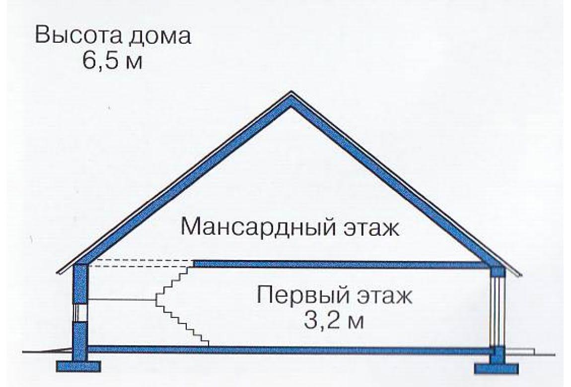 План N2 проекта каркасного дома АСД-1388