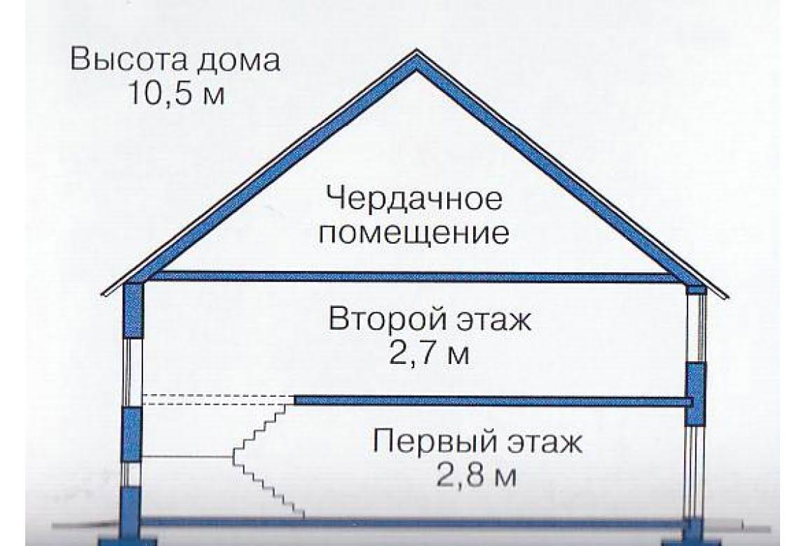 План N3 проекта каркасного дома АСД-1389