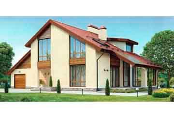 Проект кирпичного дома АСД-1039