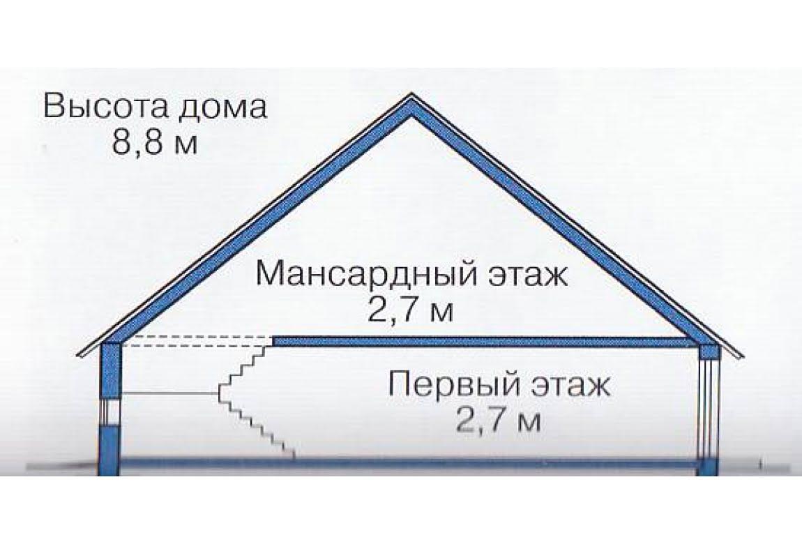 План N3 проекта каркасного дома АСД-1391