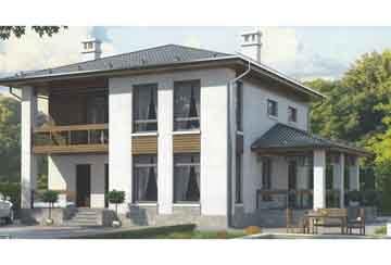 Каркасный дом АСД-1392