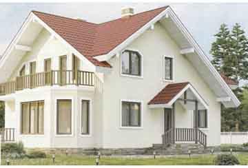 Каркасный дом АСД-1393