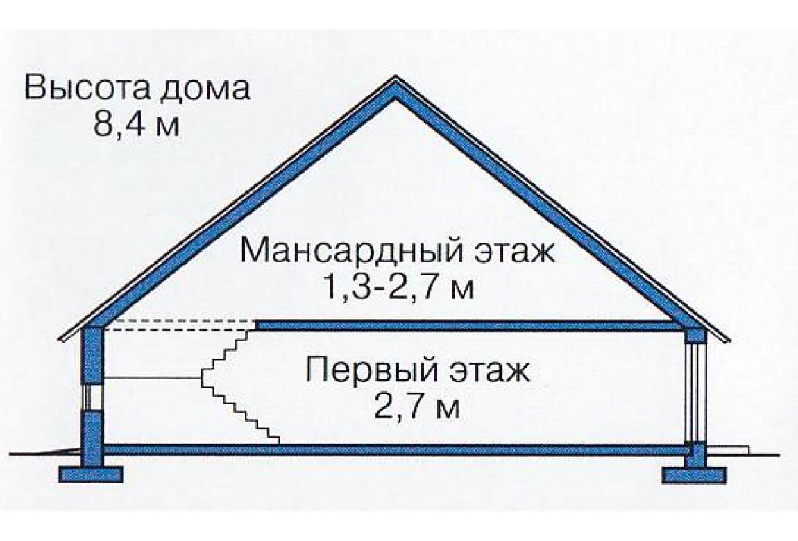 План N3 проекта каркасного дома АСД-1393