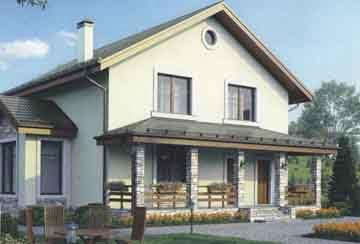 Каркасный дом АСД-1395