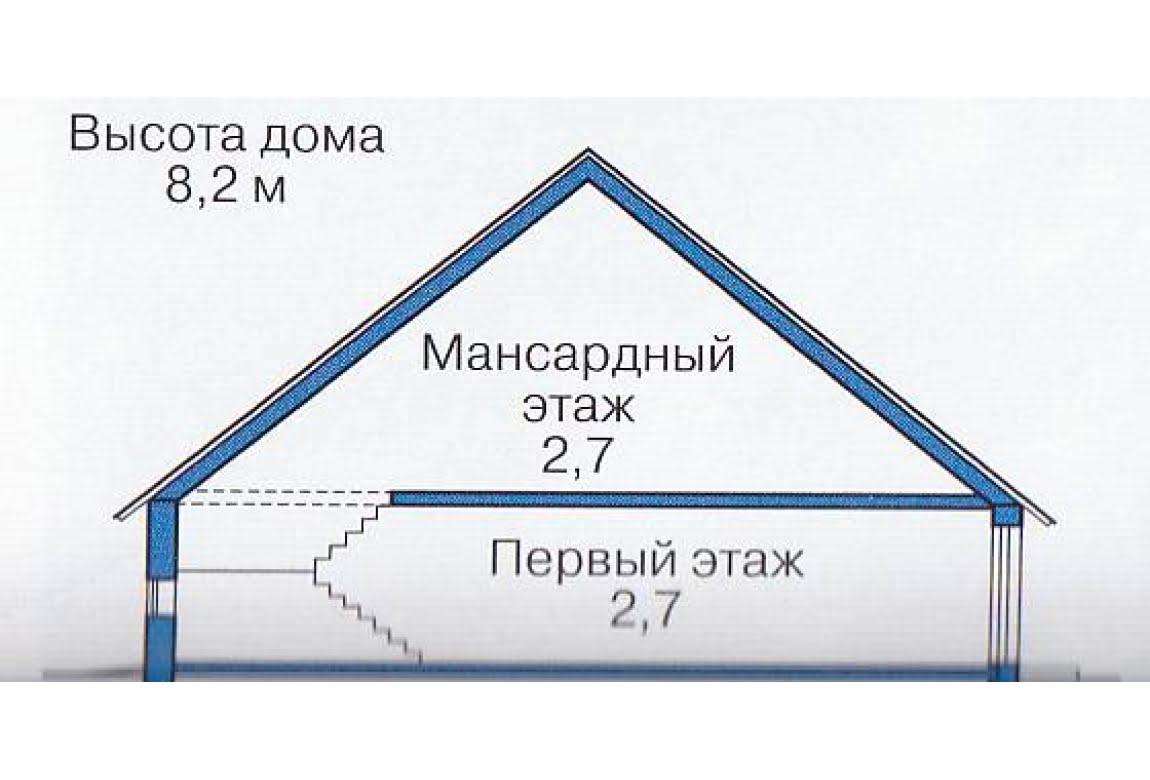 План N3 проекта каркасного дома АСД-1397