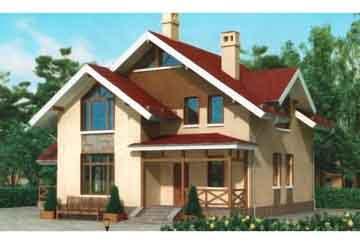 Каркасный дом АСД-1398