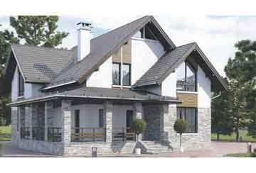 Каркасный дом АСД-1399