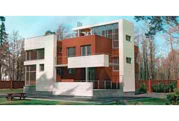 Проект кирпичного дома АСД-1040