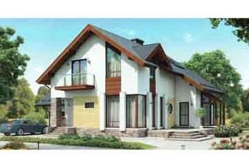 Каркасный дом АСД-1402