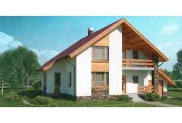 Каркасный дом АСД-1403