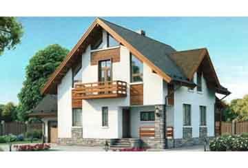 Каркасный дом АСД-1404