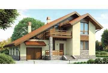 Каркасный дом АСД-1405