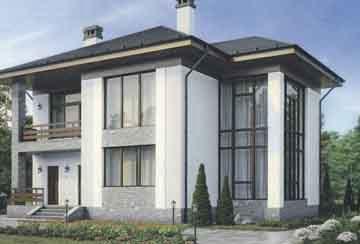 Каркасный дом АСД-1410