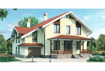 Каркасный дом АСД-1413