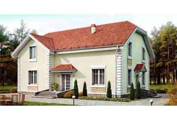 Проект кирпичного дома АСД-1042