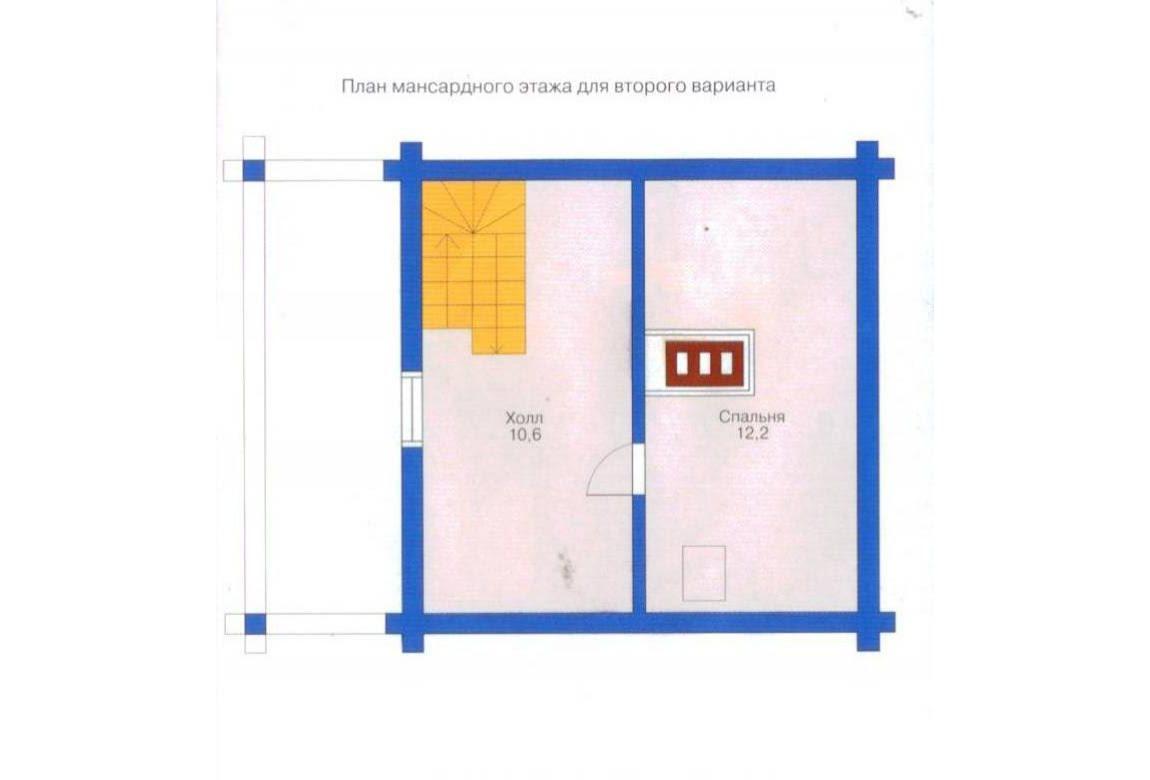 План N1 проекта бани АСД-1423