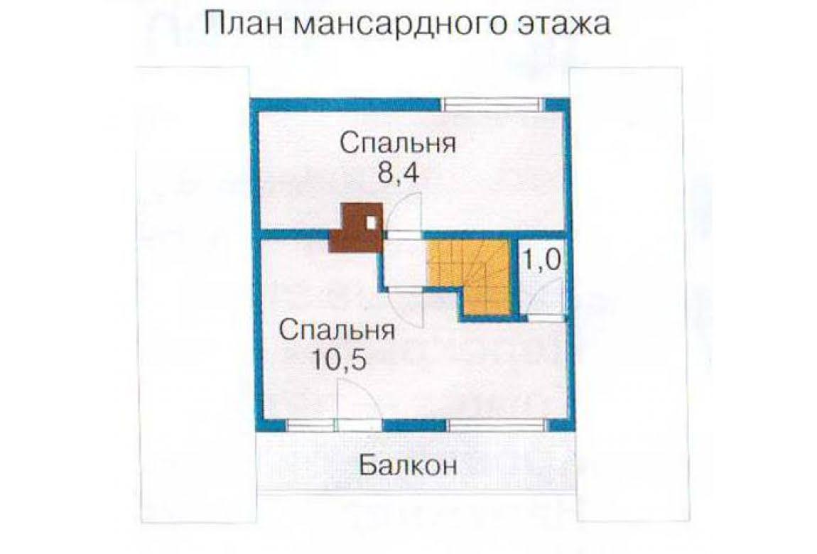 План N2 проекта бани АСД-1424