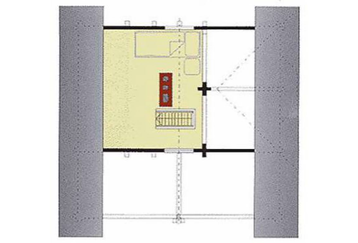План N2 проекта бани АСД-1426