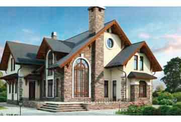 Проект кирпичного дома АСД-1043