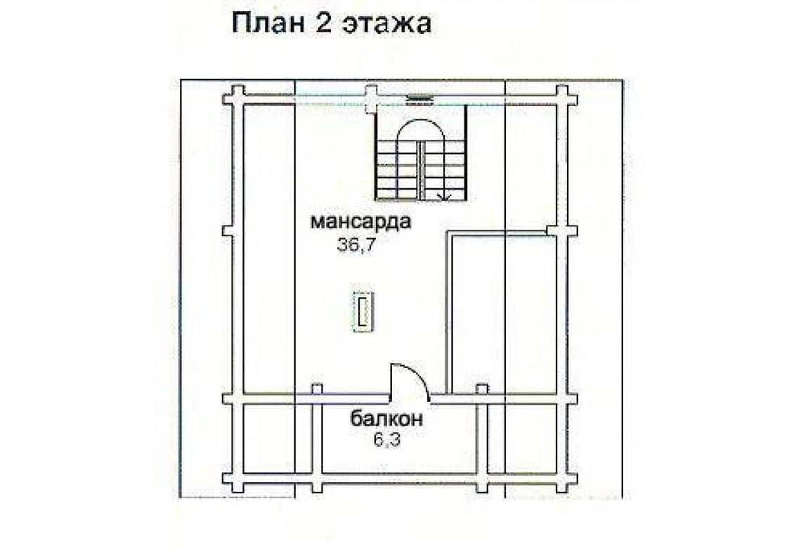 План N2 проекта бани АСД-1434