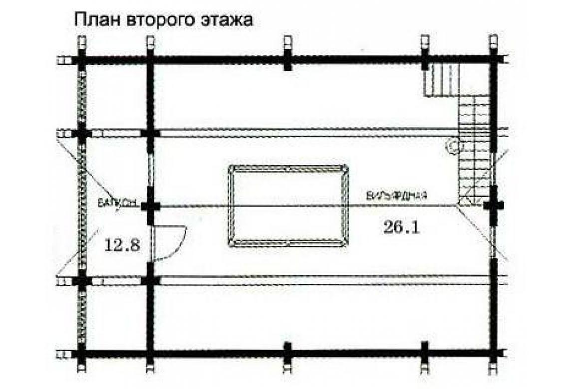 План N2 проекта бани АСД-1435