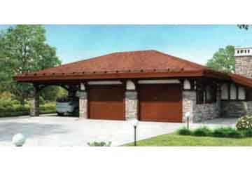 Проект гаража АСД-1436