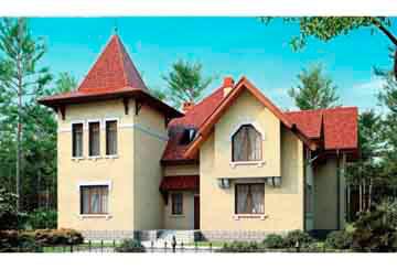Проект кирпичного дома АСД-1044