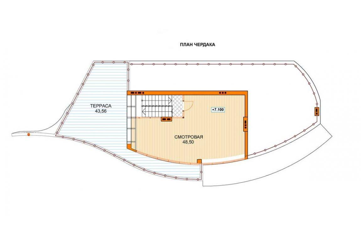 План N4 проекта ВИП дома АСД-1441