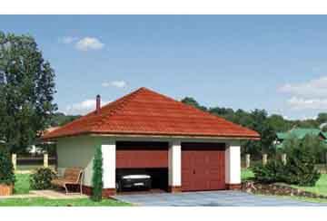 Проект гаража АСД-1442