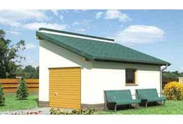 Проект гаража АСД-1444