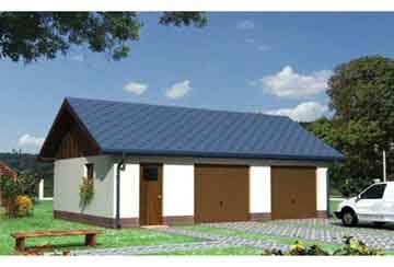 Проект гаража АСД-1446