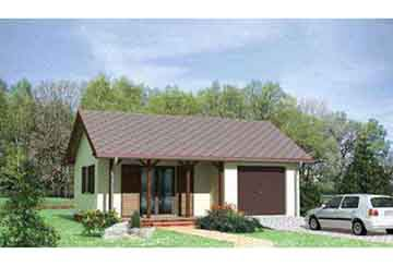 Проект гаража АСД-1447