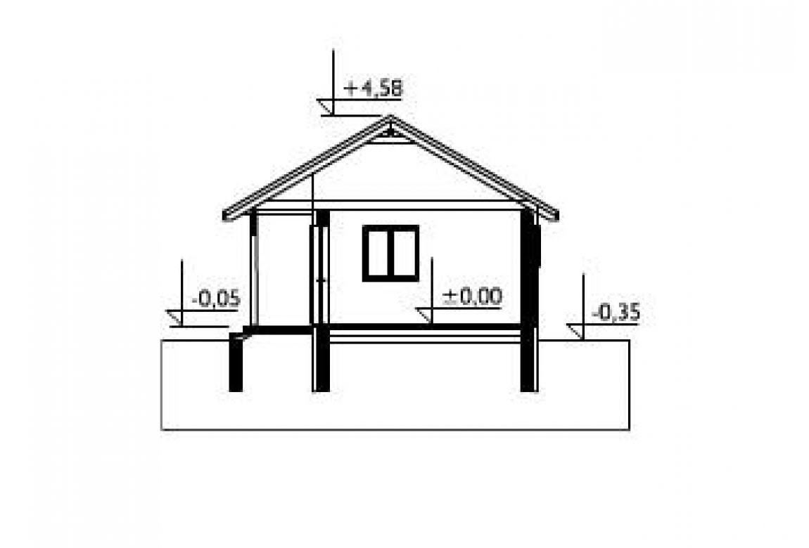 План N2 проекта гаража АСД-1448