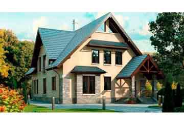Проект кирпичного дома АСД-1045