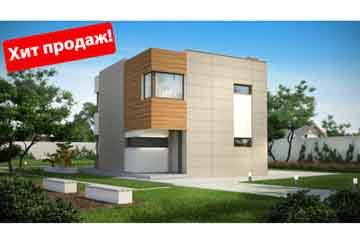 Проект дома из блоков АСД-Кьюб