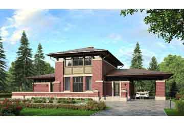 Проект кирпичного дома АСД-1458