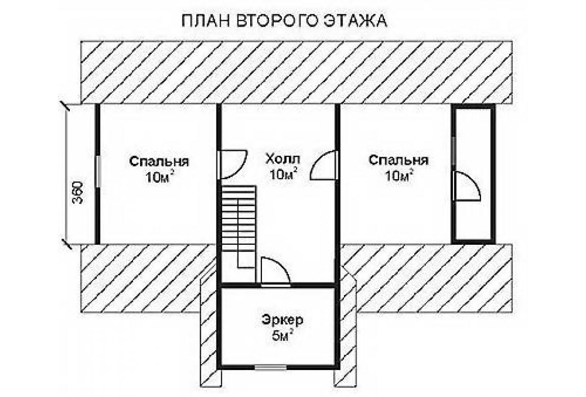 План N2 проекта недорогого дома АСД-1465
