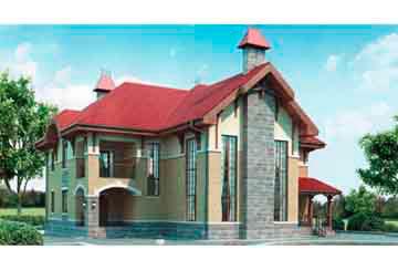 Проект кирпичного дома АСД-1047