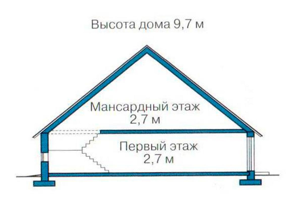 План N3 проекта кирпичного дома АСД-1048