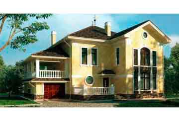 Проект кирпичного дома АСД-1049