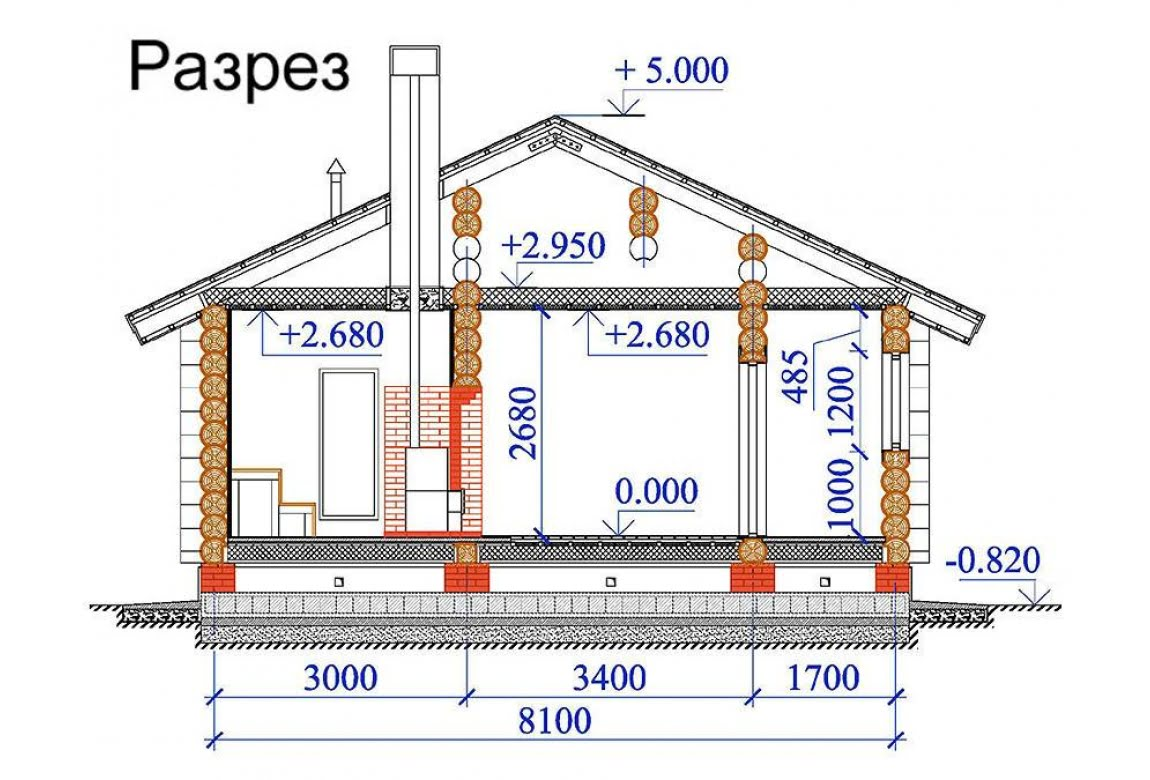 План N2 проекта бани АСД-1498
