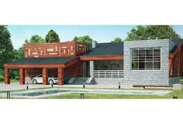 Проект кирпичного дома АСД-1005