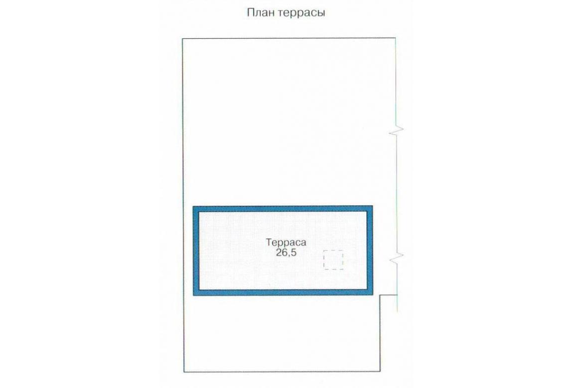 План N2 проекта кирпичного дома АСД-1005