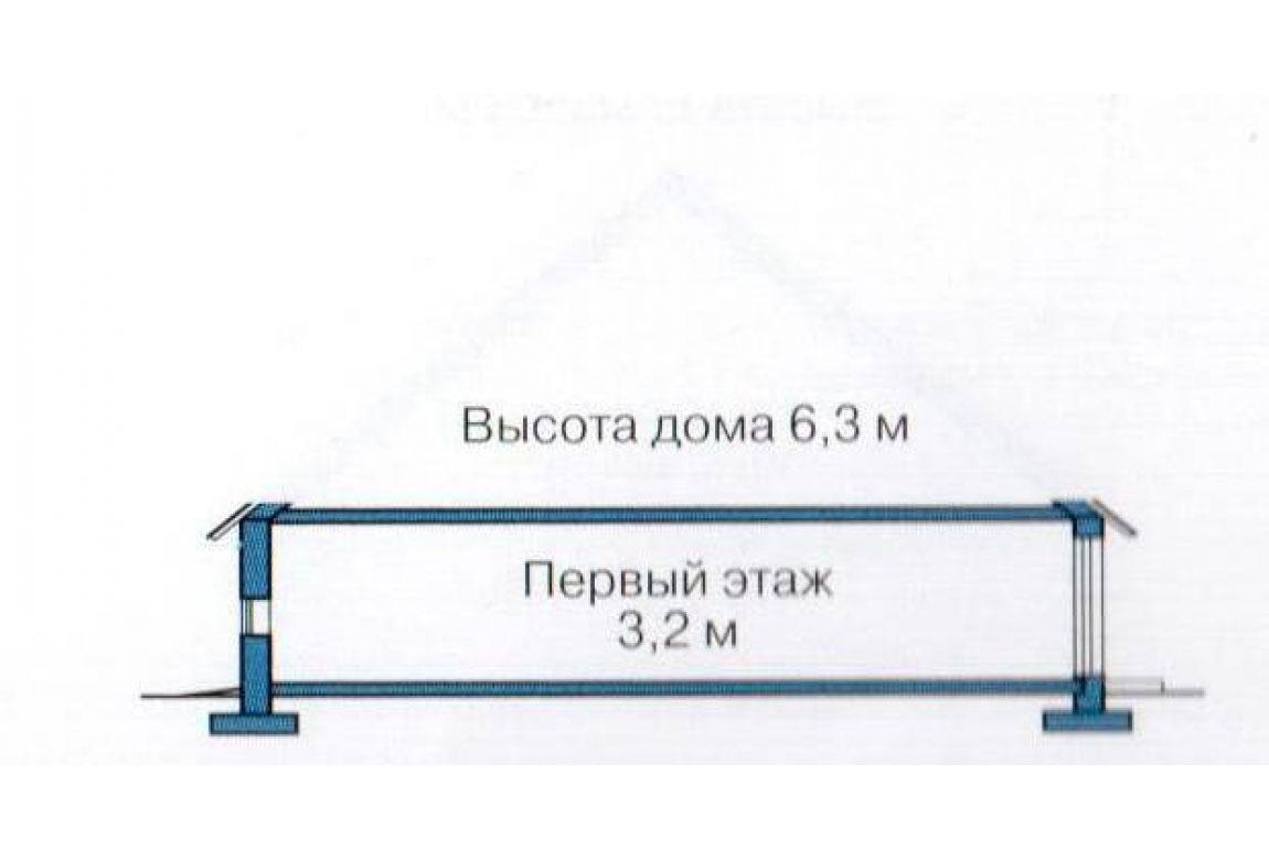 План N3 проекта кирпичного дома АСД-1005