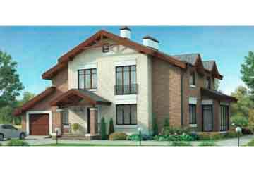 Проект кирпичного дома АСД-1050